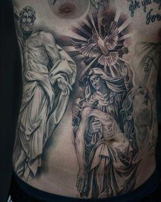 Lowrider Tattoo, Black&Grey, Chicano, Lettering