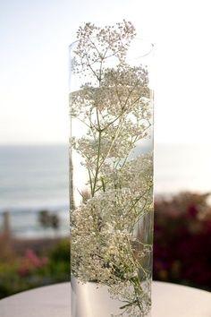Baby's Breath Centerpieces - California Weddings: http://www.pinterest.com/fresnoweddings/