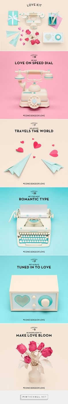 Tiffany & Co Valentine's Day Campaign on Behance - created via http://pinthemall.net