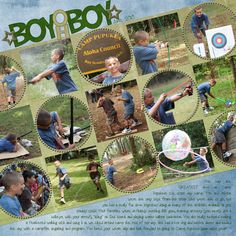 Boy oh Boy! Us mamas are pretty fond of our boys. I want to makes something like this for my son!