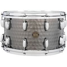 Gretsch Drums Hammered Black Steel Snare 14 x 8 in. Gretsch Drums, Nickel Plating, Thing 1, Steel, Denim Fashion, Black, Products, Cowgirl Fashion, Black People