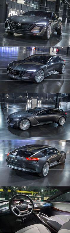 2013 Opel Monza / concept / Germany / grey / Mark Adams / 17-252