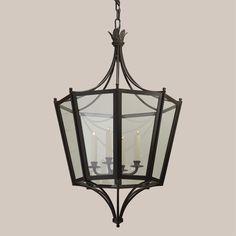 4164 Lancaster Hanging Lantern - Paul Ferrante 24″dia x 36.5″h