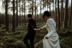 Kelly & Alec // Elopement In Scotland The Kitcheners // Fine Art Wedding Photographer Elope Wedding, Wedding Shoot, Wedding Pictures, Pre Wedding Poses, Pre Wedding Photoshoot, Forest Photography, Couple Photography, Wedding Photography Inspiration, Wedding Inspiration