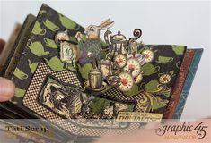 Tati, Hallowe'en in Wonderland - Deluxe Collector's Edition, Pop-Up Book, Product by Graphic 45, Photo 28
