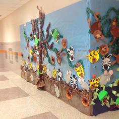 Art work for our zoo unit!