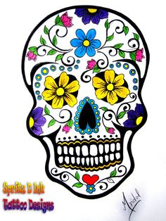Day of the Dead by ~PINTSO on deviantART