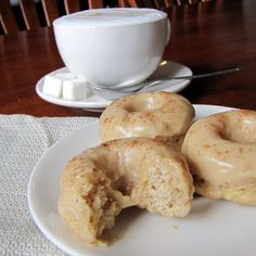 Baked Banana Donuts with Brown Butter GlazeI am not ashamed to admit it, I like my donuts better when they are fried. This fact, unfortunately, is partially responsible for the current state of my ...