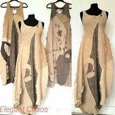 Fashion Style Chic Elegant 39 Ideas For 2019 Fashion Sewing, Boho Fashion, Fashion Dresses, Womens Fashion, Unique Outfits, Boho Outfits, Mode Boho, Linen Dresses, Sewing Clothes