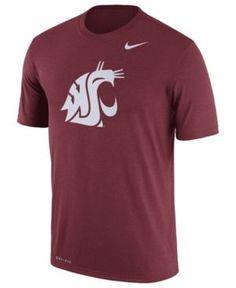 Nike Men's Washington State Cougars Legend Logo T-Shirt - Red XXL