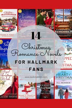 Do you love Hallmark Romances, especially at Christmas? Check out this list of Christmas Romance Novels produced by Hallmark Publishing at www. They're sure to brighten your holidays! I Love Books, Good Books, Books To Read, Christmas Books, A Christmas Story, Book Club Books, Book Lists, Romance Novels, Book Recommendations