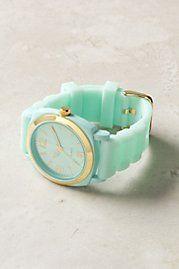 mint green watch