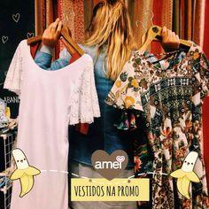 Loucas por vestido PROMO @loja_amei  #lojaamei #vestido #muitoamor #promorelampago #etiquetaamei