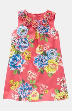 Mini Boden 'Pretty Printed' Dress (Little Girls & Big Girls)