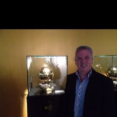 Me and Lionel Messi's Balon D'or
