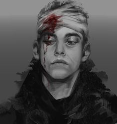 Series Movies, Tv Series, Kernel Panic, Robot Tv, Werewolf Art, Until Dawn, Rami Malek, D D Characters, Sketch Painting