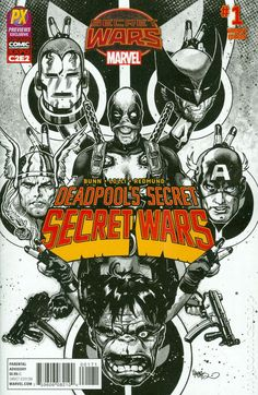 Deadpool's Secret Secret Wars (2015) 1C