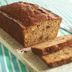 Divine chocolate chip and brazil nut banana bread recipe