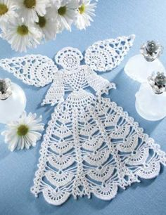 Angel Doily Pattern from Annie's Attic