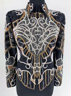 Show Jackets, Blouse, Tops, Women, Fashion, Moda, Fashion Styles, Blouses, Fashion Illustrations