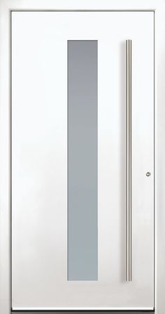 Modern Entry Doors - Modern Entry Door Modern Entrance Door, Modern Exterior Doors, Modern Front Door, Entrance Doors, Home Stairs Design, Door Design, Modern Windows And Doors, Modern Driveway, Glass French Doors