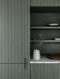 Apartment Interior, Apartment Design, Kitchen Interior, Kitchen Decor, Merci Store, Mint Green Bathrooms, Guest Toilet, Sauna Room, Cocinas Kitchen