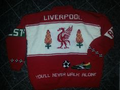 Liverpool Liverpool, Christmas Sweaters, Knitting, Gifts, Presents, Tricot, Christmas Jumper Dress, Breien, Stricken