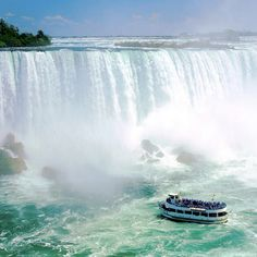Maid of the Mist Boat Ride @ Niagara Falls