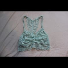 pink/victoria secret lace bralette in very good condition, only worn once or twice, fits cup sizes A and B, bought from pink PINK Victoria's Secret Intimates & Sleepwear Bras