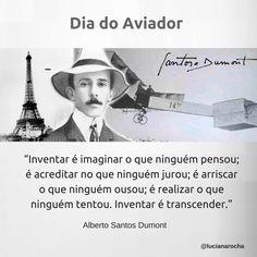 23 de outubro - Dia do Aviador #datascomemorativas #frases