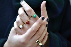 You better believe these rings are DIY.
