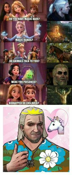 I'm sorry for what I've done. More memes, funny videos and pics on Video Game Memes, Video Games Funny, Funny Games, Funny Videos, The Witcher 3, Witcher Art, Disney Memes, Funny Cute, Hilarious