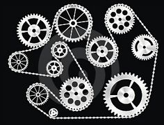 Gears If you like this check out my industrial vintage recycled upcycled art and decor items https://www.etsy.com/shop/SalehDesigns?ref=si_shop