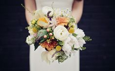 A little bit of everything in this bouquet