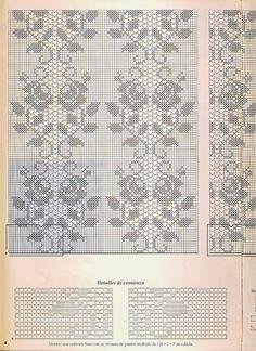 Crochet: Bedspread f