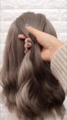 Easy Hairstyles For Long Hair, Cute Hairstyles, Wedding Hairstyles, Hairstyles Videos, Everyday Hairstyles, Formal Hairstyles, Step By Step Hairstyles, Haircut Long Hair, Running Late Hairstyles