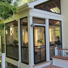 modern screened in porch modern screened in porch design houzz modern screened porch Screened Porch Designs, Screened In Porch, Side Porch, Back Porch Designs, Porch Trim, Outdoor Rooms, Outdoor Living, Outdoor Kitchens, Outdoor Decor