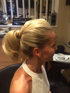 The perfectly styled ponytail #hairByKatka