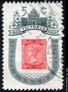 Canada - SC#399 - 1962 - Victoria Centenary