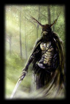 Horned God Cernunnos figurine Pagan altar doll Spirit Shaman doll Primitive figure Witch creepy decor Forest god Wicca statue Fultrui Idol