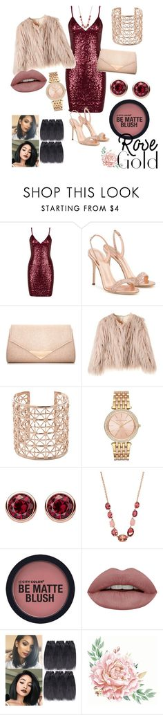 """""""Woman's Fashion"""" by nys-queen on Polyvore featuring Giuseppe Zanotti, Dorothy Perkins, Co.Ro, Michael Kors, Thomas Sabo, Irene Neuwirth and rosegold"""