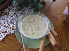 Thick And Creamy New England Clam Chowder Recipe - Food.com: Food.com