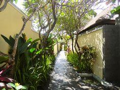 10/13(木)バリ島ウブドのお天気は晴れ。室内温度30.2℃、湿度61%。今日はカラッとした天気!太陽の光に当たるとジリジリ暑い!!