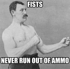 Overly Manly Man haha