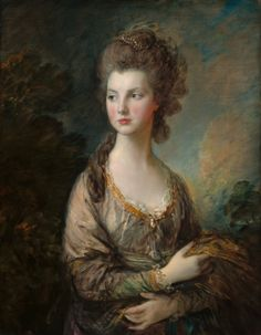 Thomas Gainsborough, The Hon. Mrs. Thomas Graham, c.1775/77, oil on canvas, 89.5 x 69 cm, National Gallery of Art, Washington DC. Source  This portrait of Mrs Thomas Graham, aka Mary Cathcart, was painted by Gainsborough for the sitter's husband. A full-length depiction of the young beauty can be seen in the Scottish National Gallery collection. Mary was in her late teens when both works were commissioned, though the Scottish piece shows her in a glamorous 17th-century costume inspired by…