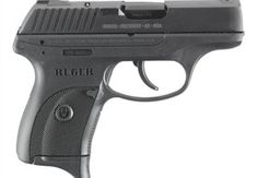Ruger LC9: Designed specifically for concealed carry and chambered for the 9mm Parabellum cartridge. Due to price factors, many police departments do not choose Ruger as their weapon of choice for department issue, but law enforcement officers report that they often keep the Ruger LC9 as their personal, off-duty weapon of choice. It is only six inches long and less than one inch wide, weighing around 17 ounces.