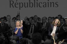 Les cadres du parti Les Républicains lors du congrès fondateur à Paris le 30 mai 2015.   On a fait disparaître les hommes de photos officielles françaises