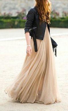 Pretty flowing dress