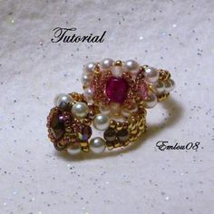 Tutorial Dawness's Ring   JewelryLessons.com