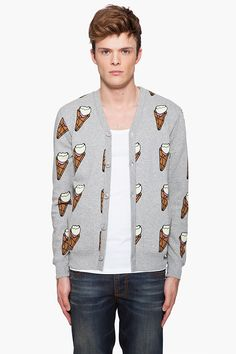 My two favorite things sweaters and ice cream combined.
